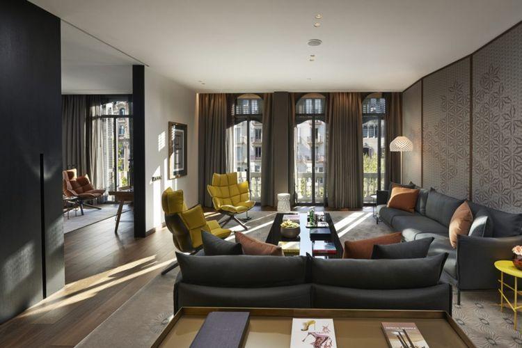 Barcelona Wohnen luxus wohnideen aus barcelona hotelgestaltung wohndesign
