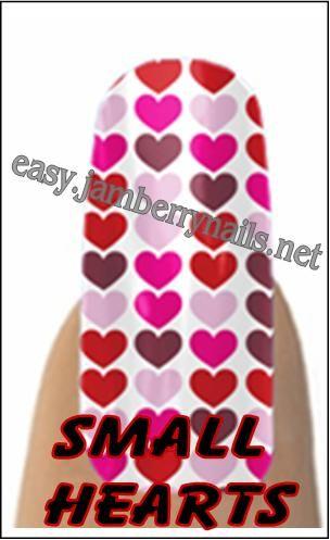 Jamberry Nails Valentine line.
