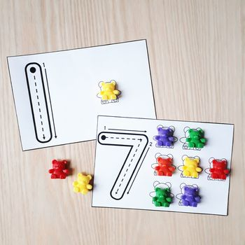 Photo of One-to-One Correspondence Intervention Activities for Kindergarten Number Sense