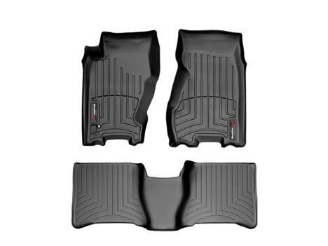 $189.00 - 2004 Jeep Grand Cherokee | WeatherTech FloorLINERs in Black.