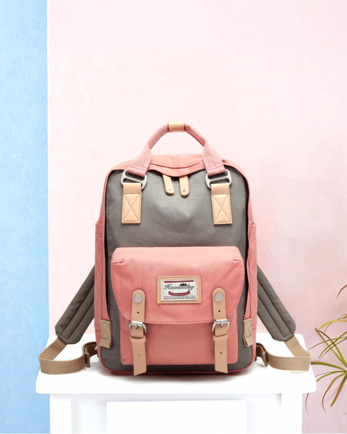 Women Laptop Backpacks Pink Bagpack Korean Travel backbag Student primary School