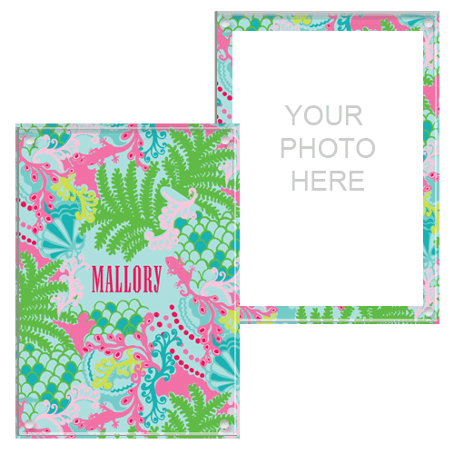 Lilly Pulitzer Personalized Picture Frame - Checking In | Lilly ...