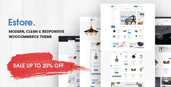 Estore - Modern Clean WooCommerce WordPress Theme | Wordpress and ...