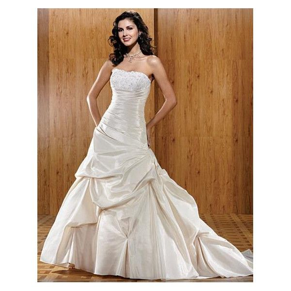 Wedding Dress Bunched Skirt