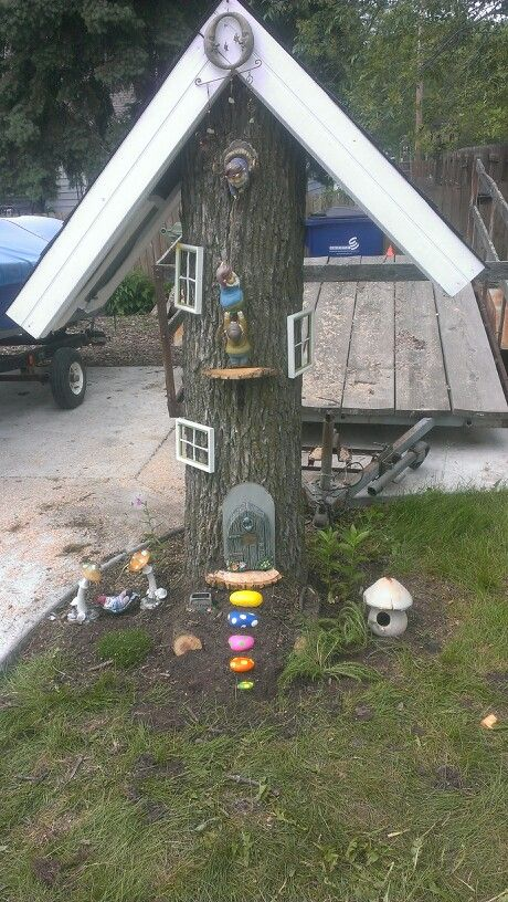 how to build a gnome house