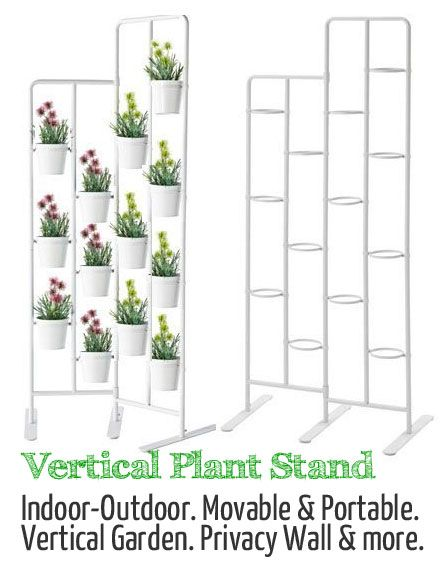 This Vertical Plant Stand Can Be Used as a Privacy Wall, Herb Garden ...