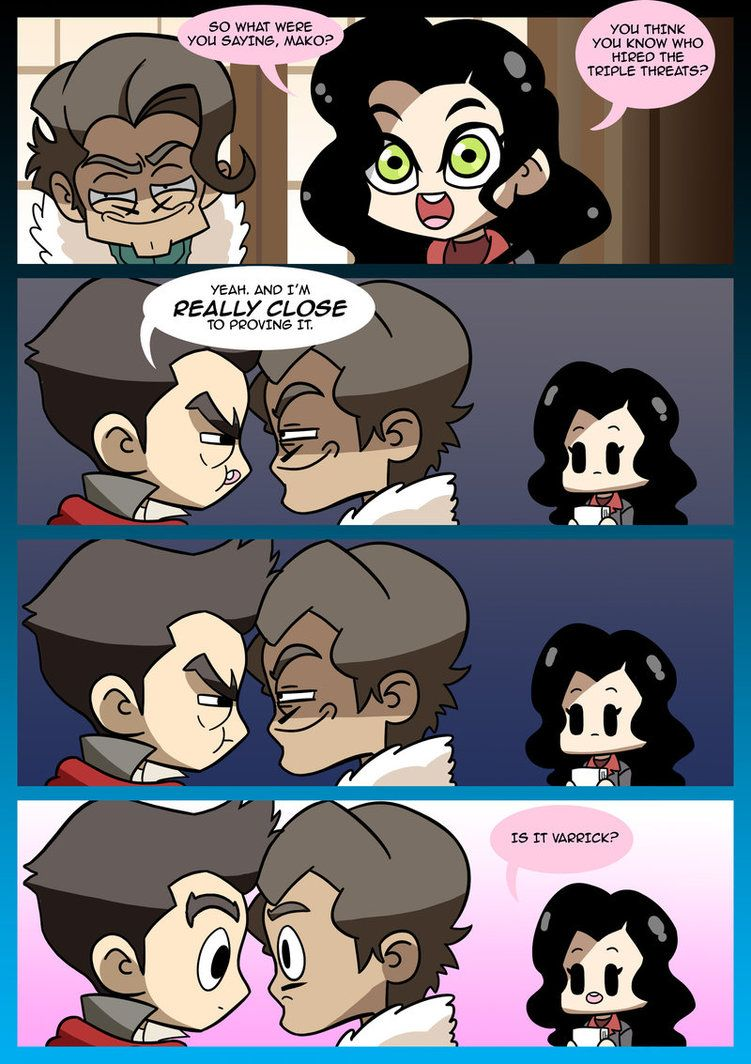 I KNOW I'VE PROBABLY ALREADY PINNED THIS BUT OMFG I CAN'T BREATHE!!! LoK: Mr. Subtle by Neodusk on DeviantArt