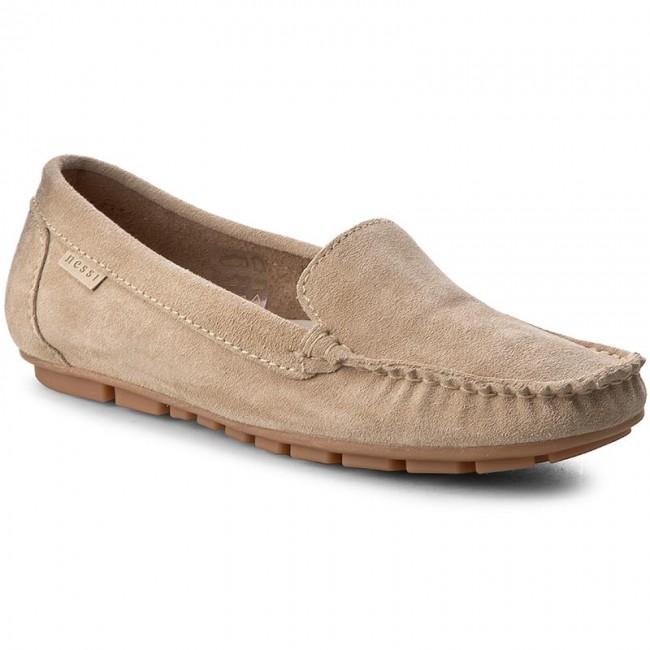 Mokasyny Nessi 17130 Bez 194 Dress Shoes Men Loafers Oxford Shoes