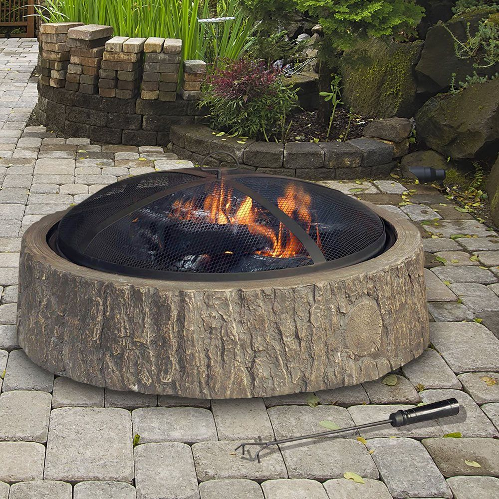 Shop Sunjoy D Ft011pst 34 In Saskatoon Fire Pit At Lowe 39 S Canada Find Our Selection Of Fire Pits At The Lowest Fire Pit Fire Pit Wayfair Outdoor Fire Pit