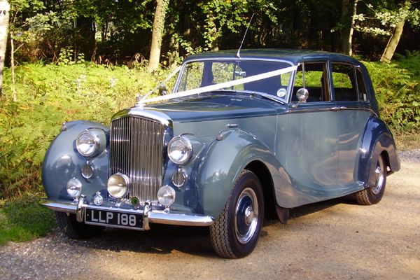 A Stunning Classic Bentley Wedding Transport Pinterest