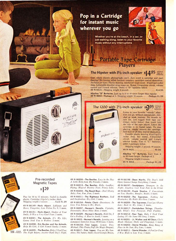 MeTV Network   12 super Sixties pages from the 1968 Sears catalog