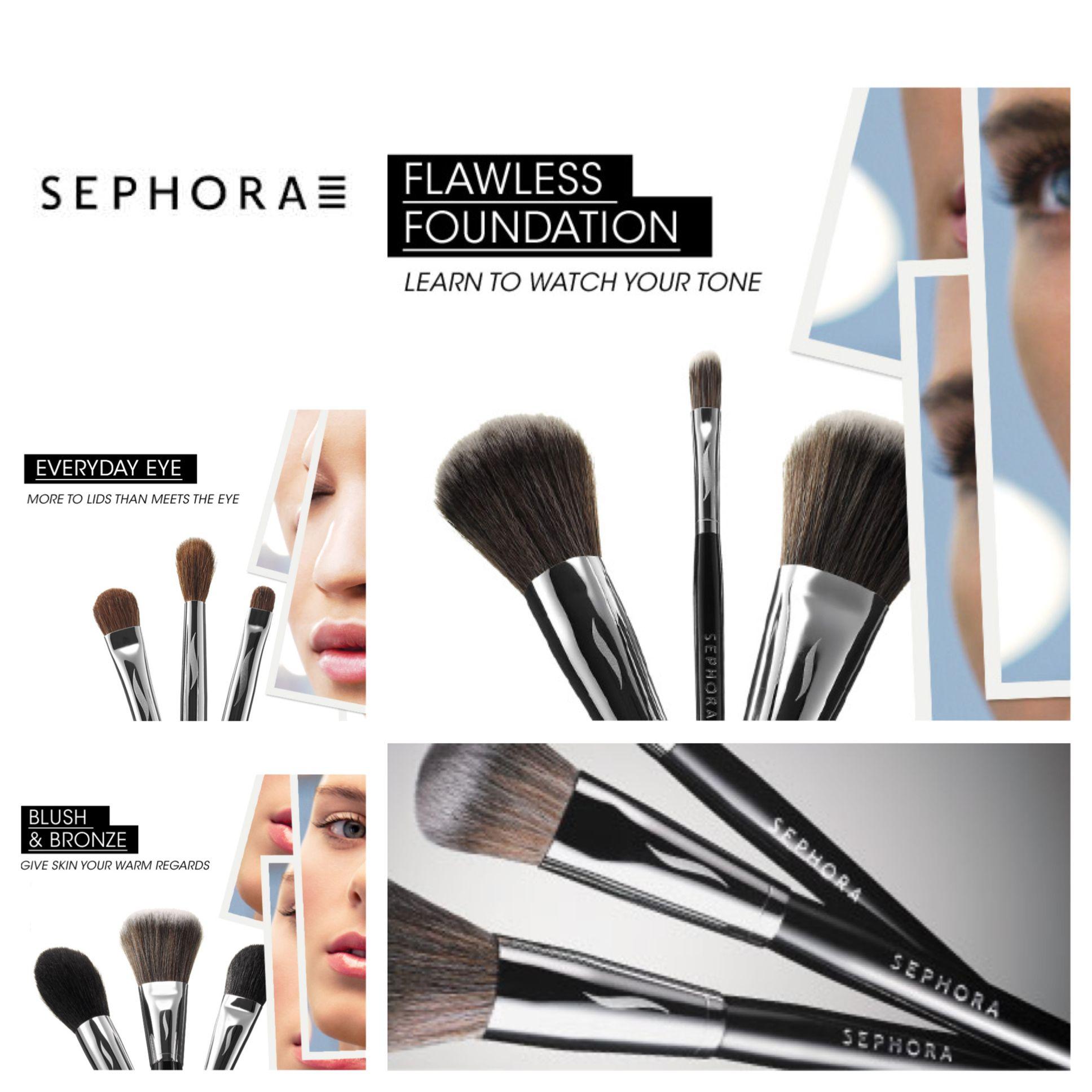 Sephora will be showcasing their PRO makeup brush