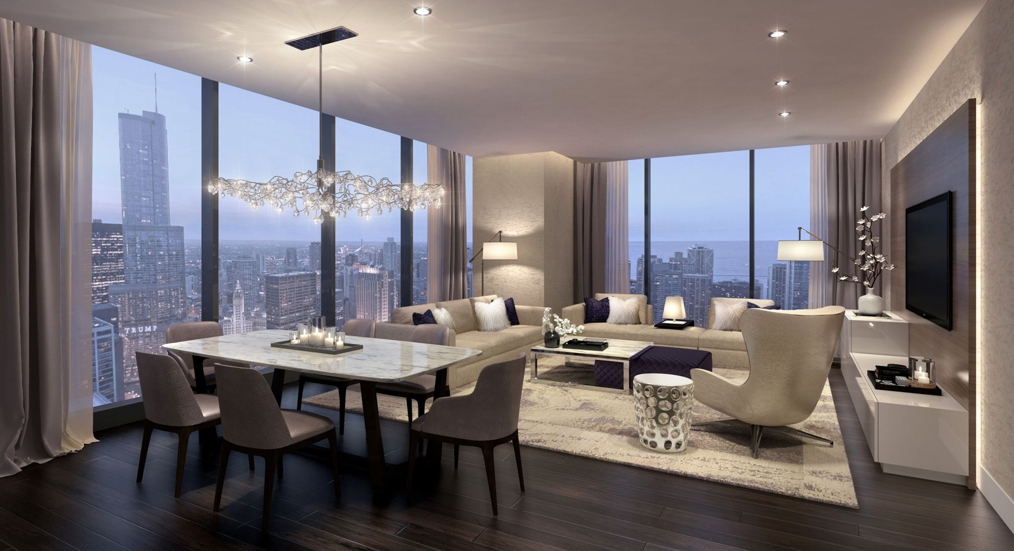 See Condo Interiors Planned At Jeanne Gang S New Chicago High Rise In Lakeshore East Jpg 2014