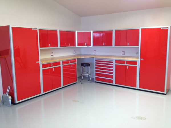 Garage Storage Cabinets | ... Base Cabinets, Tool Chest, Corner Cabinet,  Wall Cabinets, And Closets