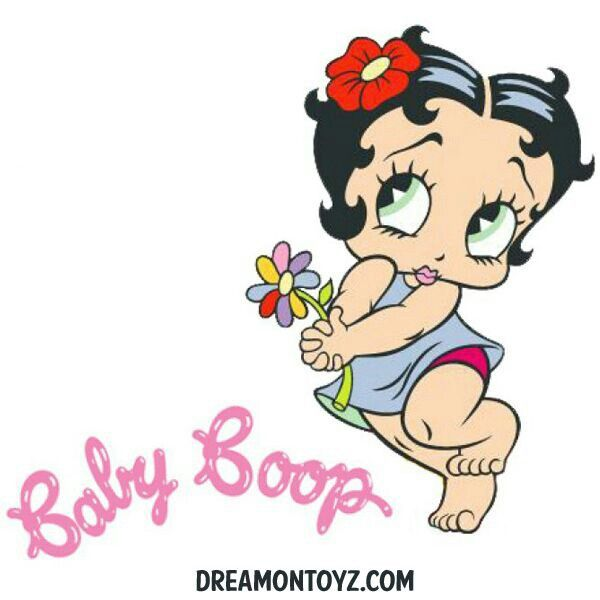 baby betty boop coloring pages - photo #29