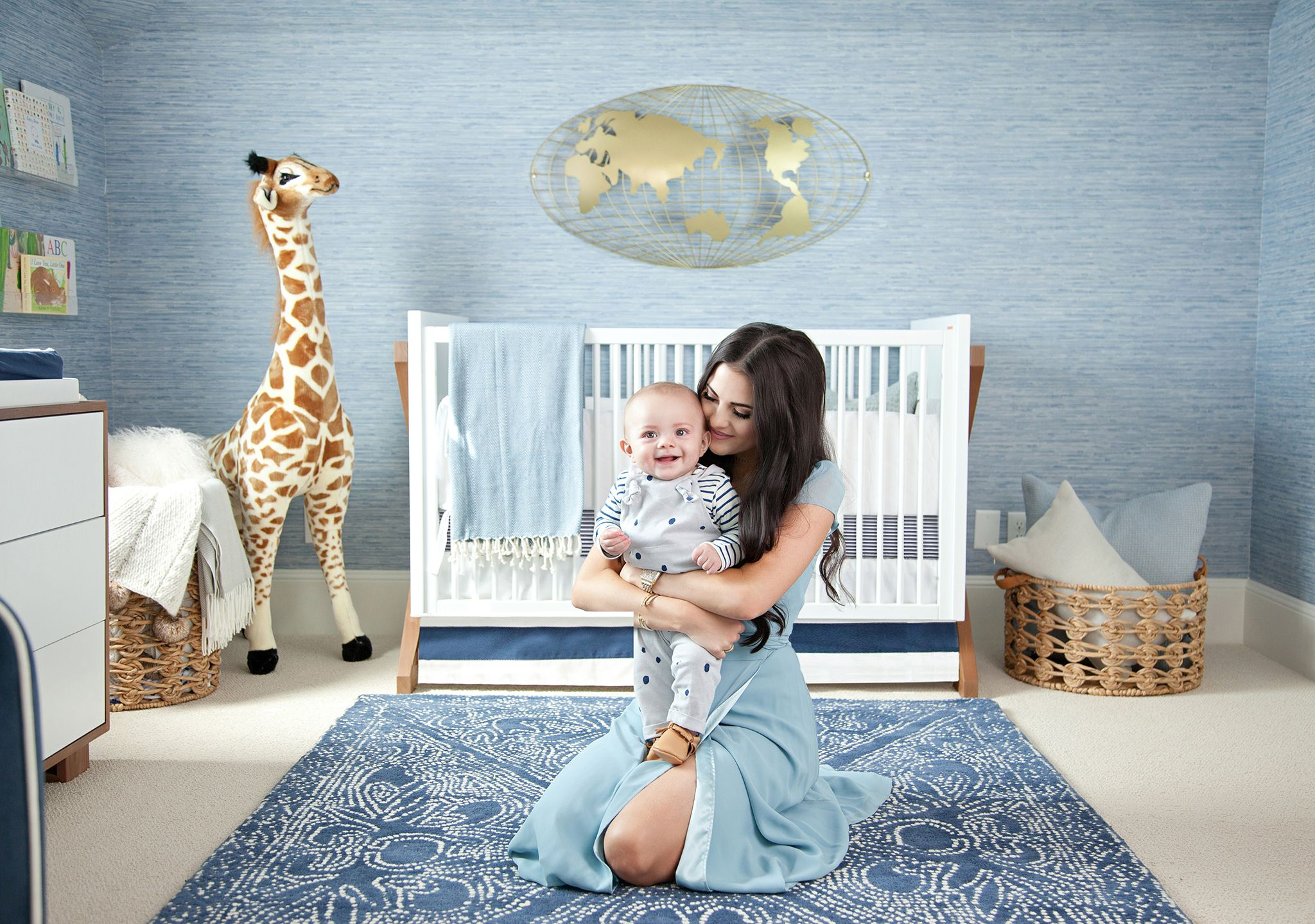 Baby Boy Nursery Tour: In The Nursery With Rachel Parcell (Again