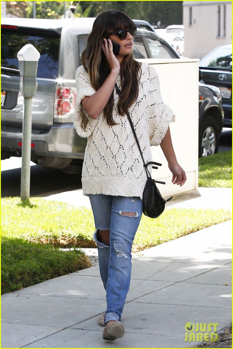 Lea Michele Visits Dentist After Date Night with Cory Monteith | lea michele visits dentist after date night with cory monteith 18 - Photo