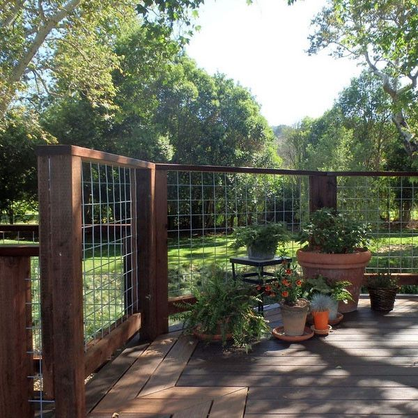 4x4 Mesh Stair/Fence Panels by Wild Hog Railing-60 in-6 ft ...