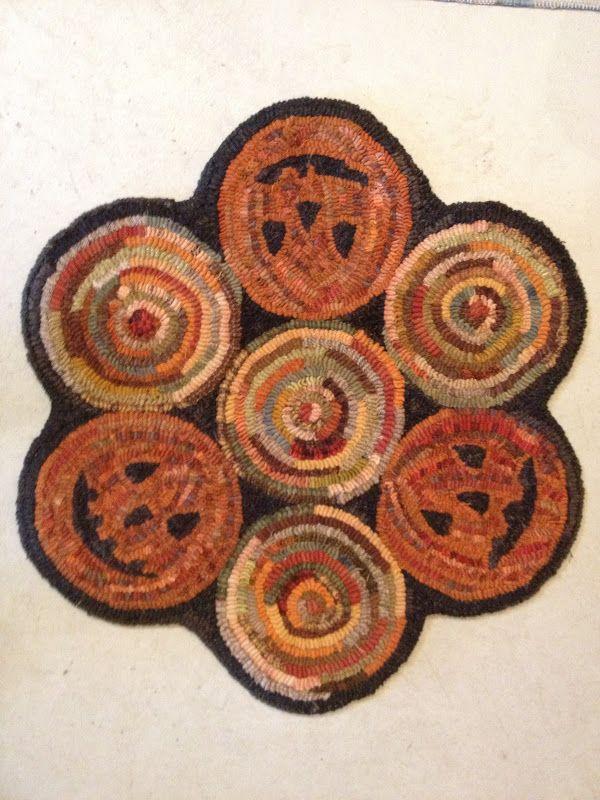 Rug Hooking Hooked rugs Pinterest Otoño