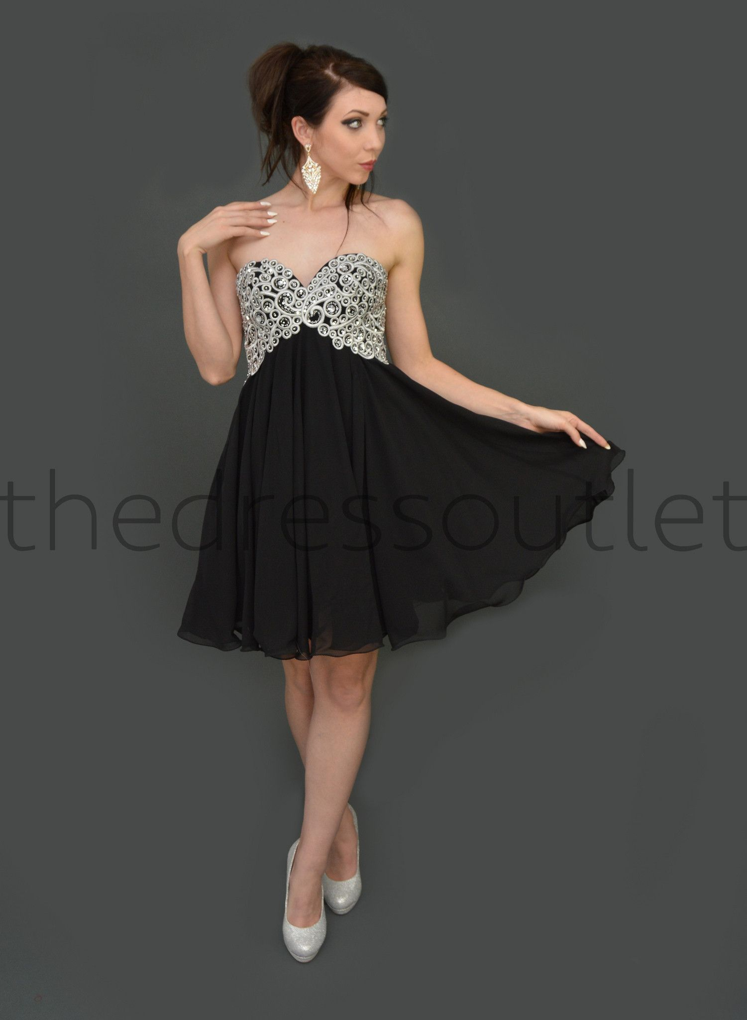 Bohemian homecoming strapless chiffon prom short cocktail mini dress