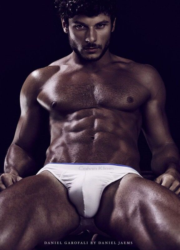 Hunk White Male Model