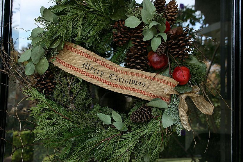 Photo of Christmas Wreath Gets Personal
