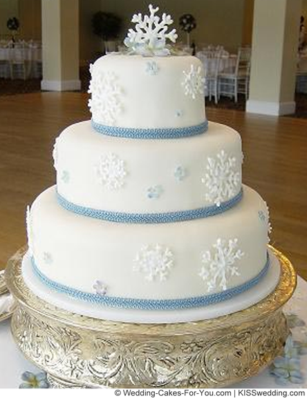 ice wedding cake wedding cake ribbon pinecones and berries snowflakes and 16259