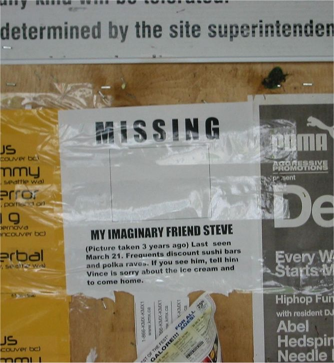 other funny telephone pole signs summer bucketlist - Funny Missing Person Poster
