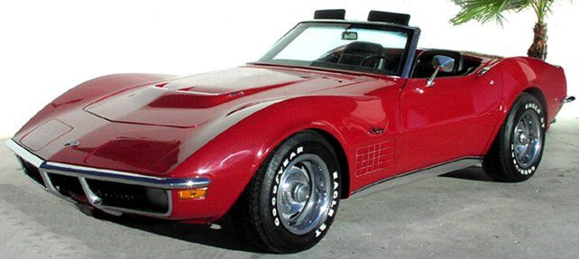 1971 Corvette Stingray Convertible I Ll Take One In Red