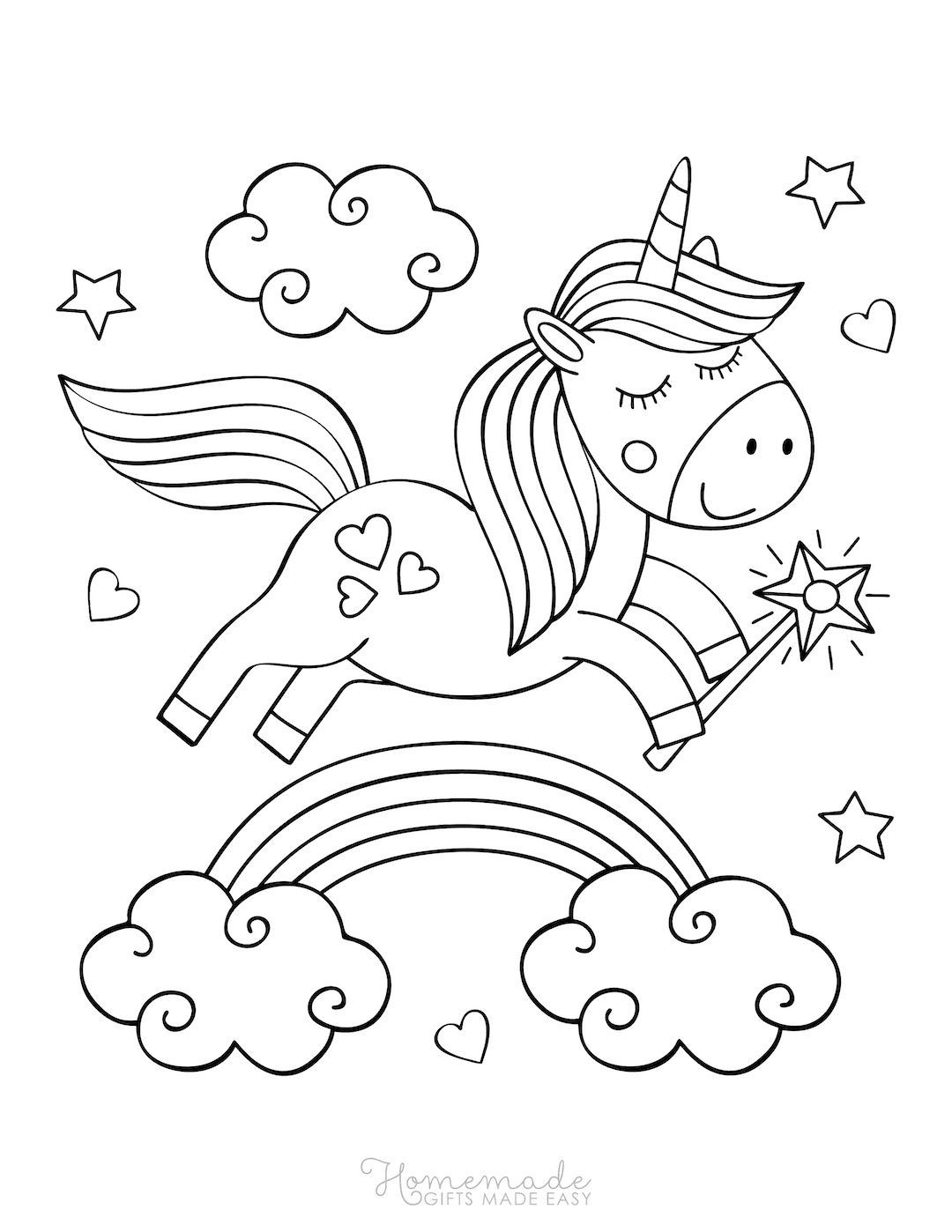 75 Magical Unicorn Coloring Pages For Kids Adults Free Printables Unicorn Coloring Pages Coloring Pages Valentine Coloring Pages