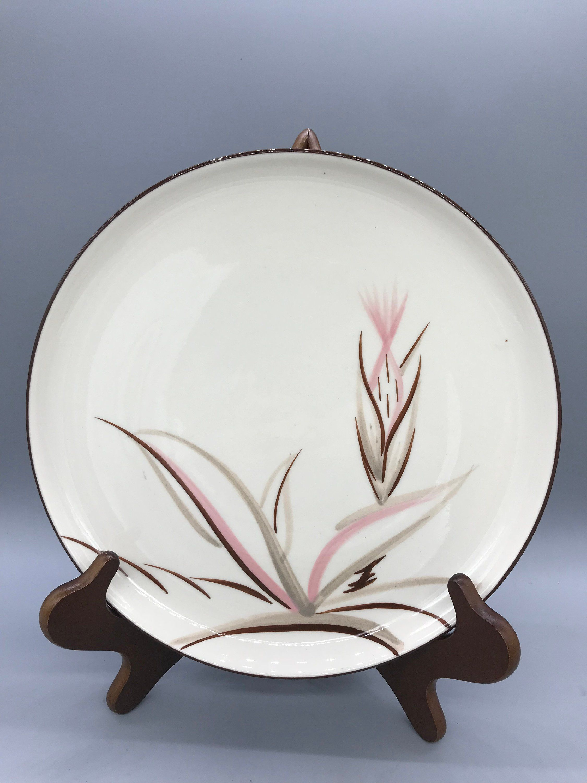 Winfield S Dragon Flower Dinnerware Circa 1940s Dragon Etsy Plastic Dinnerware California Pottery Dinnerware