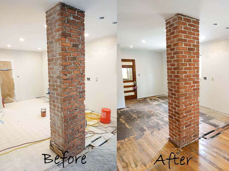 How To Remove Plaster And Exposed Brick Exposed Brick Fireplaces