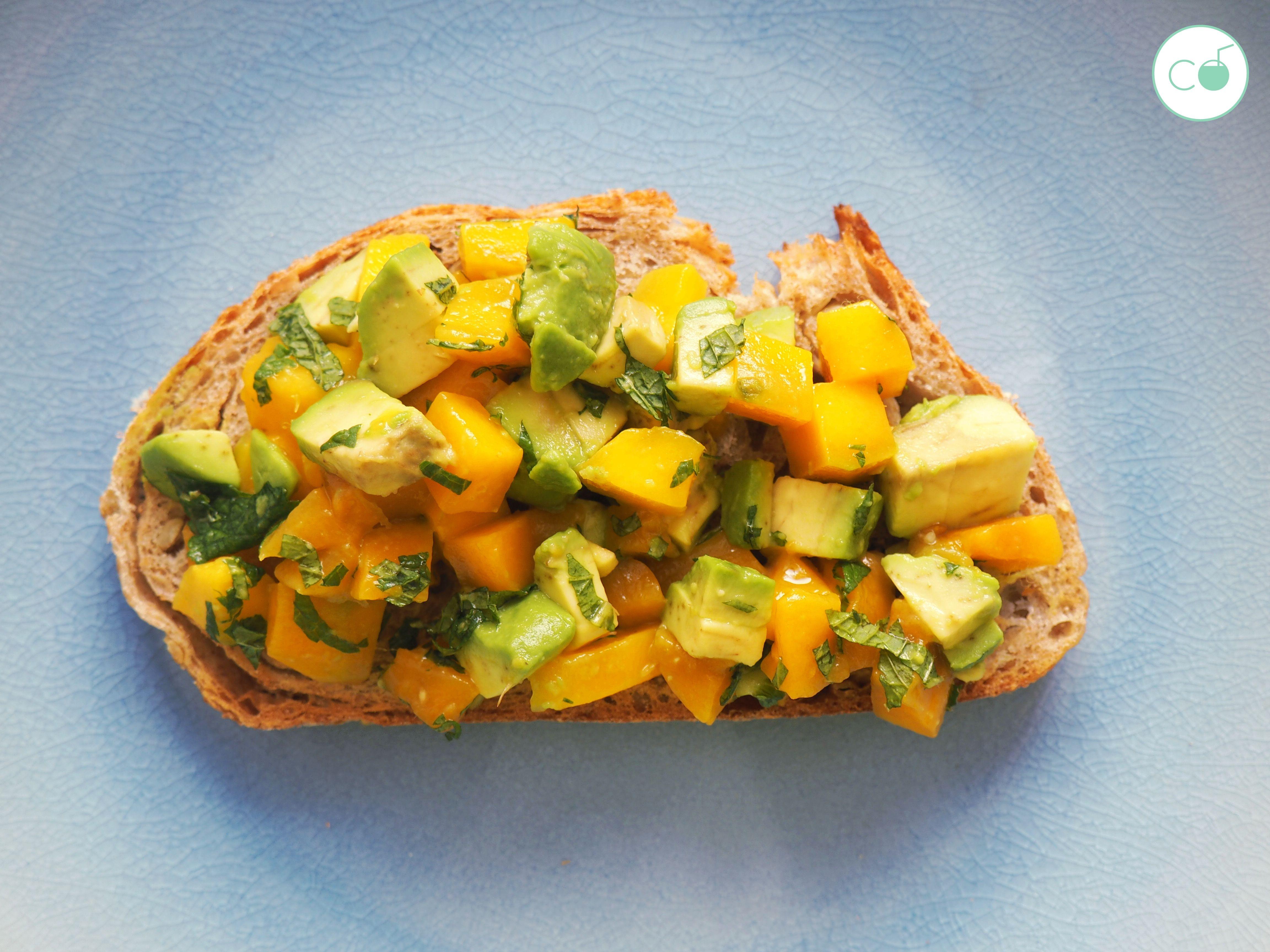 tostadas aguacate saludables veganas