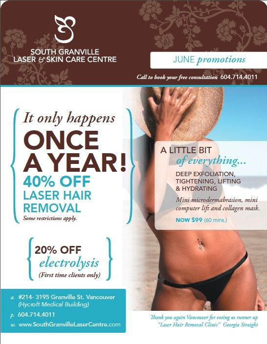 Check Out Our Once A Year Special Promotion On Laser Hair Removal And Electrolysis Also Try Our A Little Bi Laser Skin Care Deep Exfoliation Skin Care Center