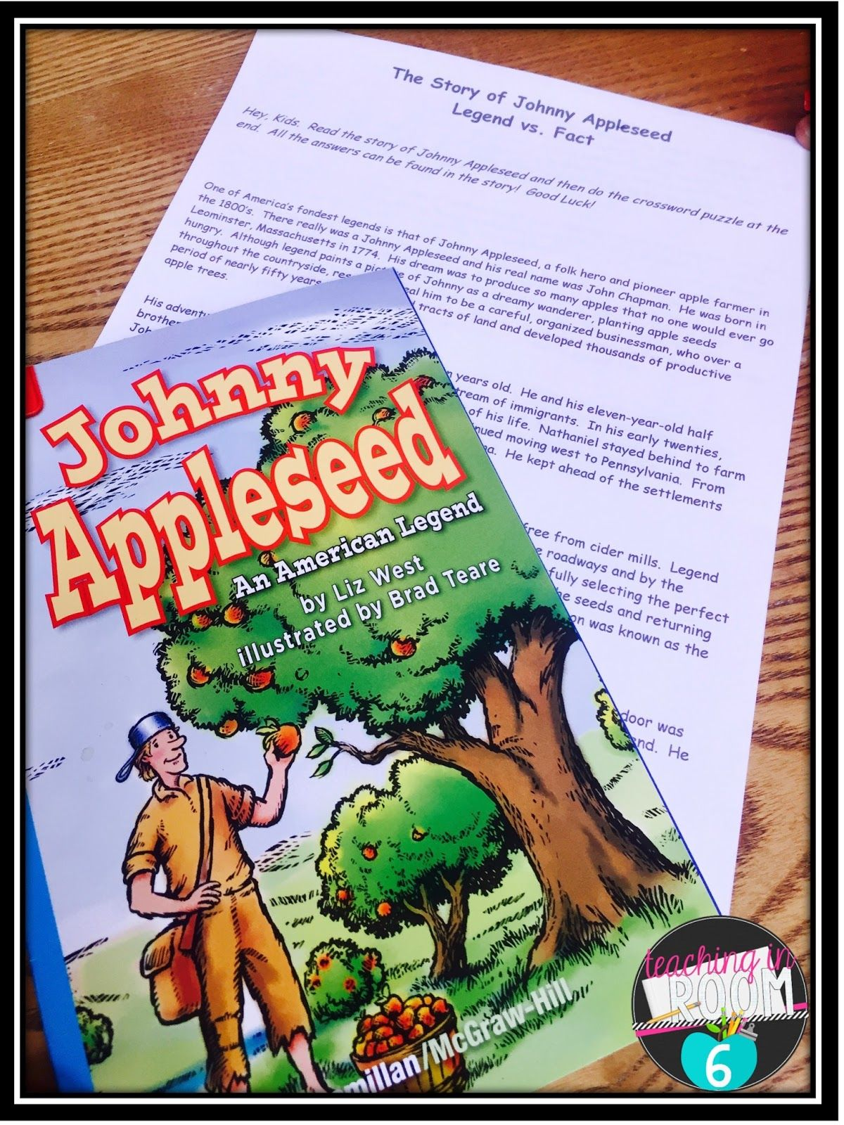 Paired Texts To Learn About Johnny Appleseed
