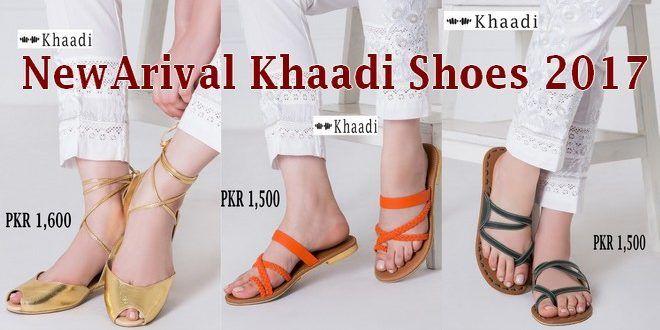 NewArival Khaadi Shoes 2017 Summer