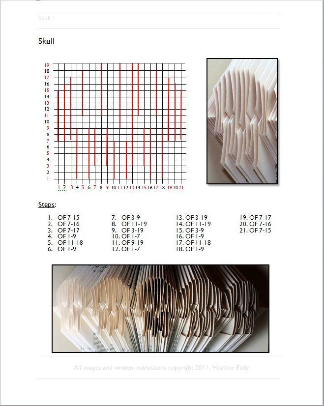 Libri Piegati Free Patterns Libri Alterati Altered Book