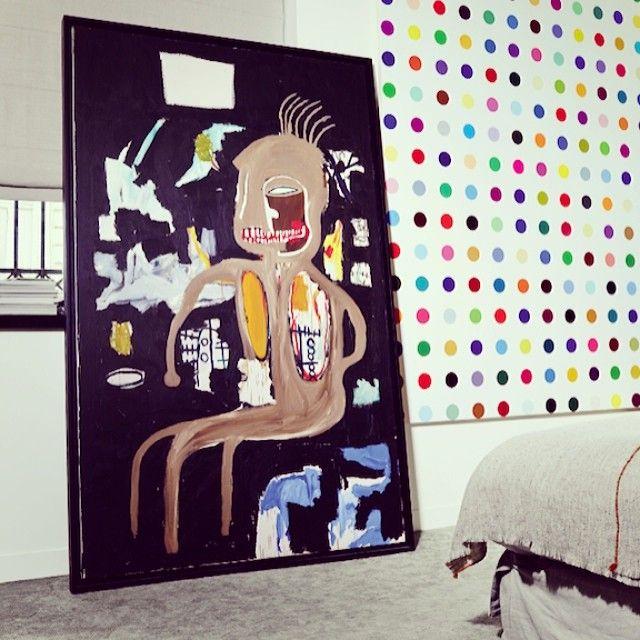 l'appartement de #thierrygillier #jeanmichelbasquiat