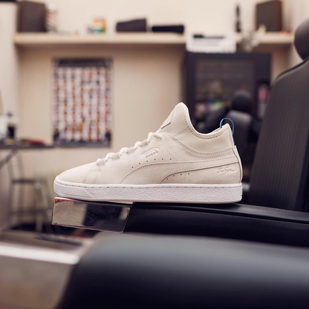 shop 50% price reliable reputation PUMA Suede 50 Mid x Big Sean will be coming soon to HANON ...