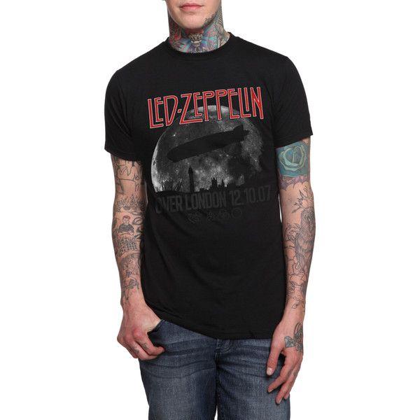 Led Zeppelin Over London T-Shirt   Hot Topic ($21)