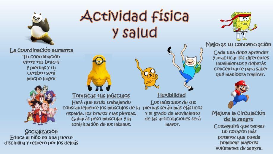 Beneficios De La Actividad Física Y Salud Actividad Fisica Y Salud Actividades Físicas Imagenes De Actividad Fisica