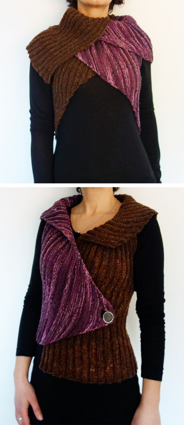 Knitting Pattern For Easy Tulip Vest This Versatile Vest Is Knit