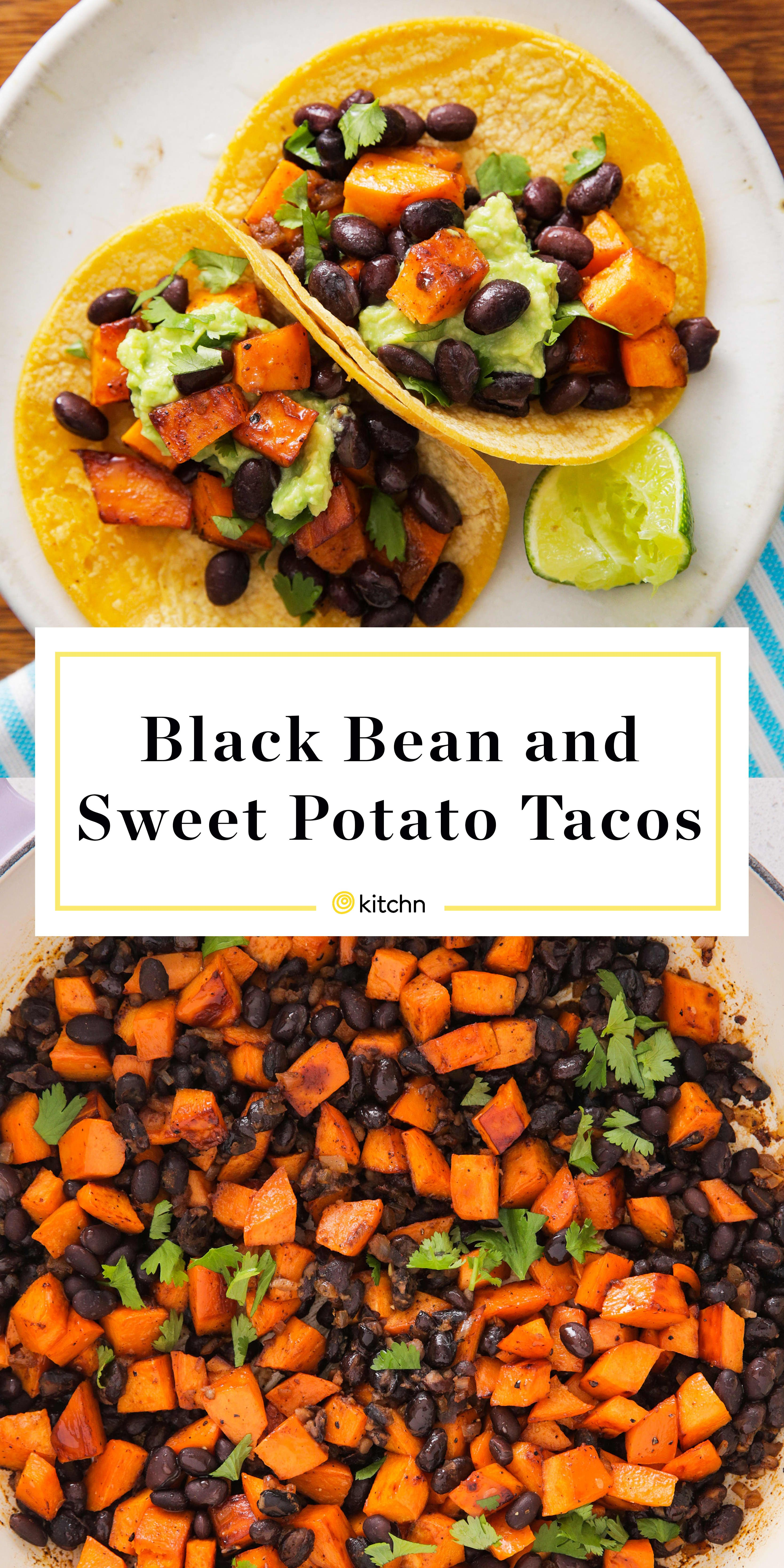 Recipe: Black Bean and Sweet Potato Tacos