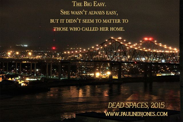 Be careful what you dig for. http://www.paulinebjones.com/dead-spaces-the-big-uneasy.html
