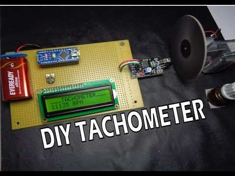 How to Make Arduino Based Digital Tachometer Simple DIY Tutorial ...