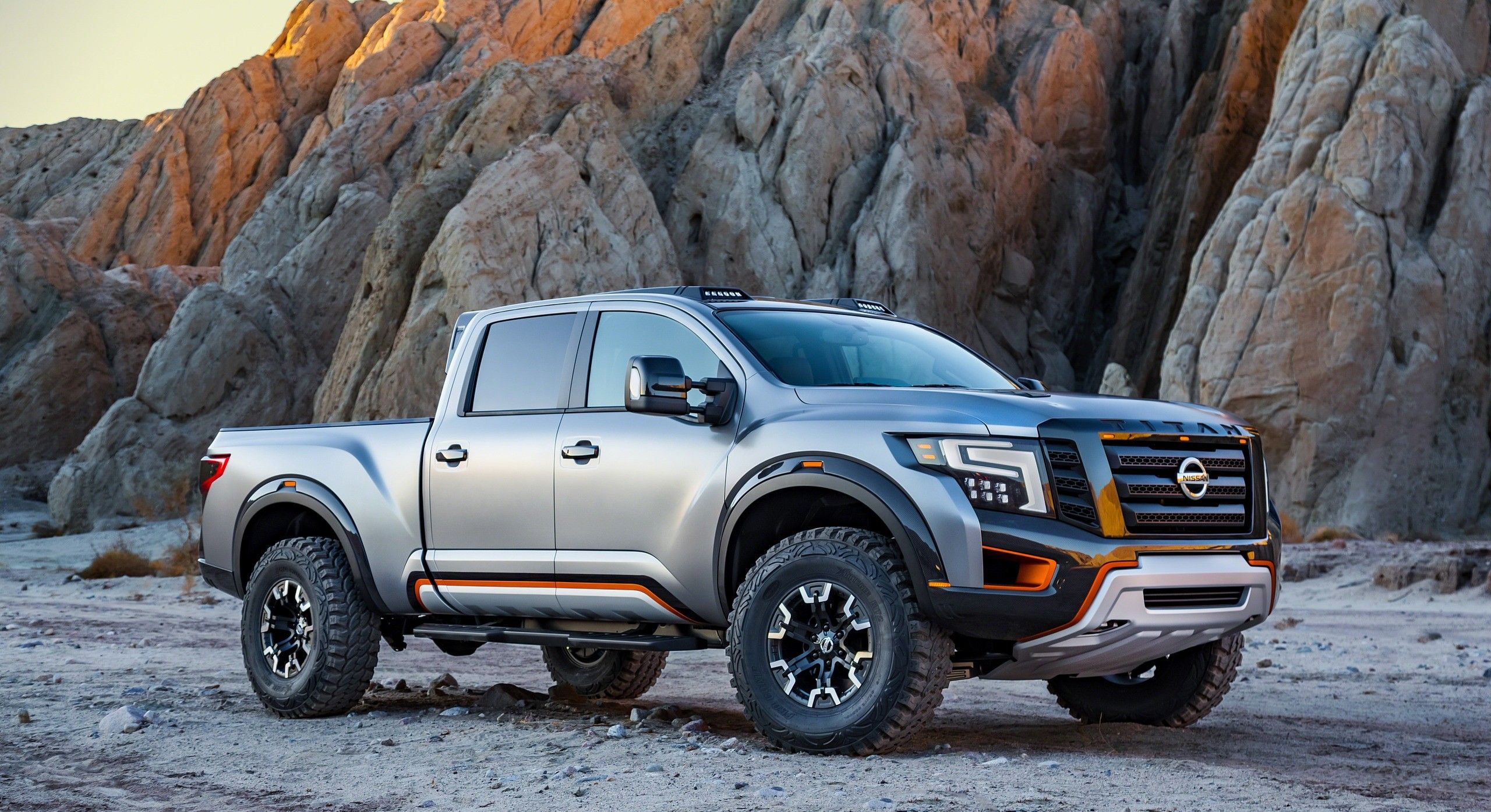 2017 Nissan Titan Warrior Concept.    http://nissannews.com/en-US/nissan/usa/releases/nissan-titan-warrior-concept-makes-world-debut-at-the-2016-north-american-international-auto-show