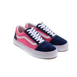 60% cheap fashionable and attractive package sophisticated technologies Vans Shoes Navy Blue/Pink Two-Tone Old Skool Shoes Unisex ...
