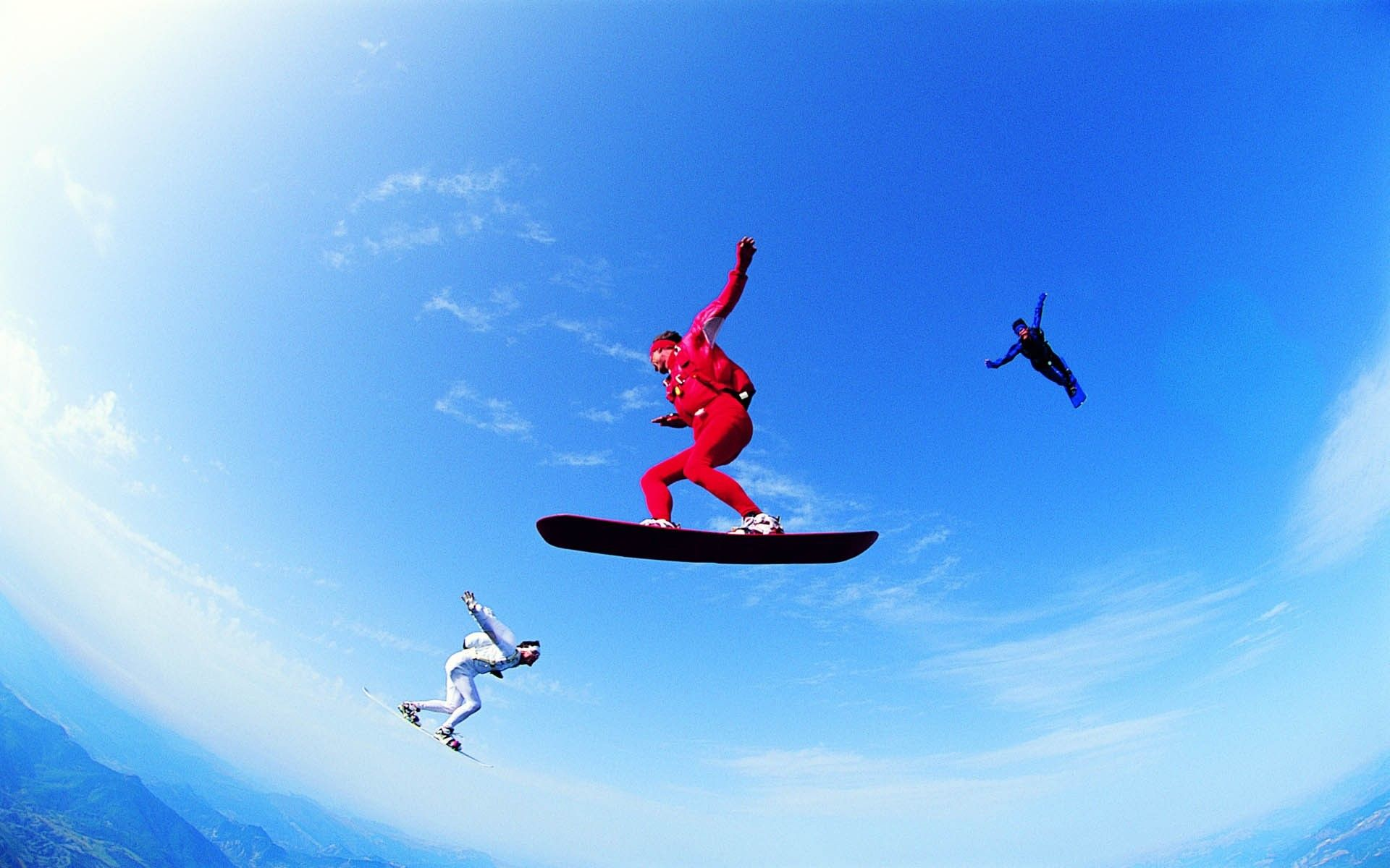 Skydiving Skyscapes 1920x1200 Hd Wallpaper Collection Sports Sky