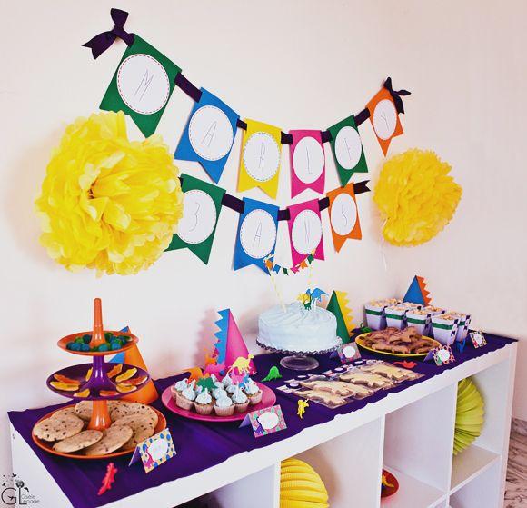 decoration fete anniversaire bebe 1 an