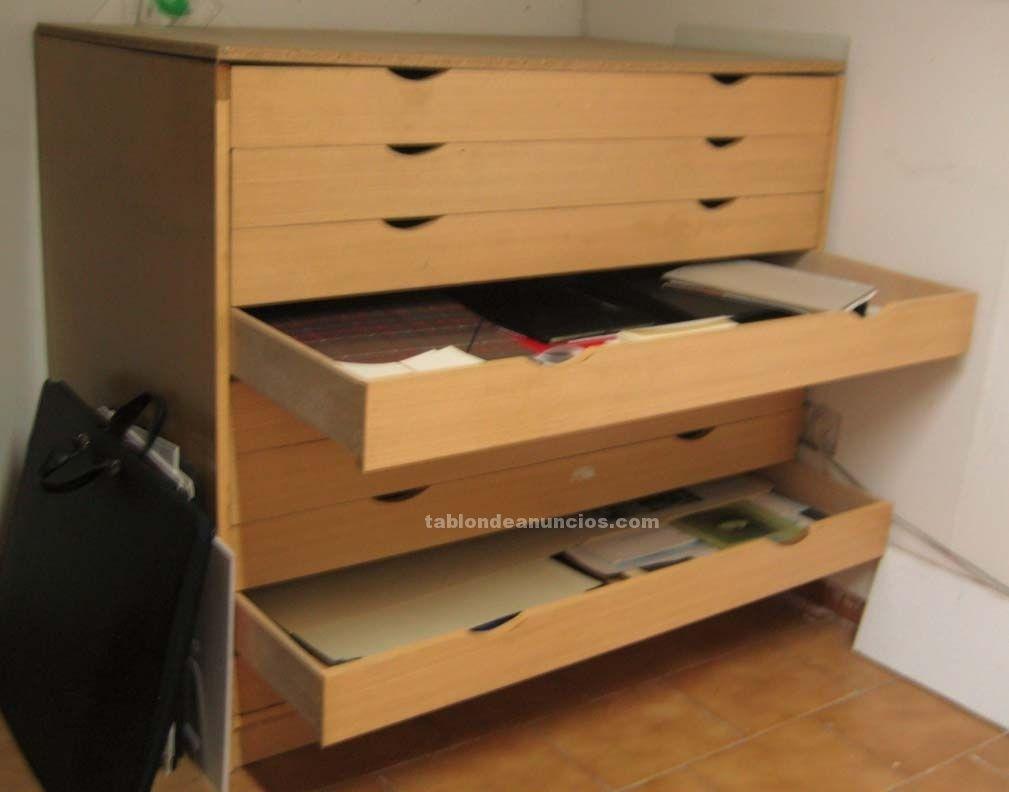 Foto de mueble archivador de planos horizontal wish list - Archivadores de madera ...